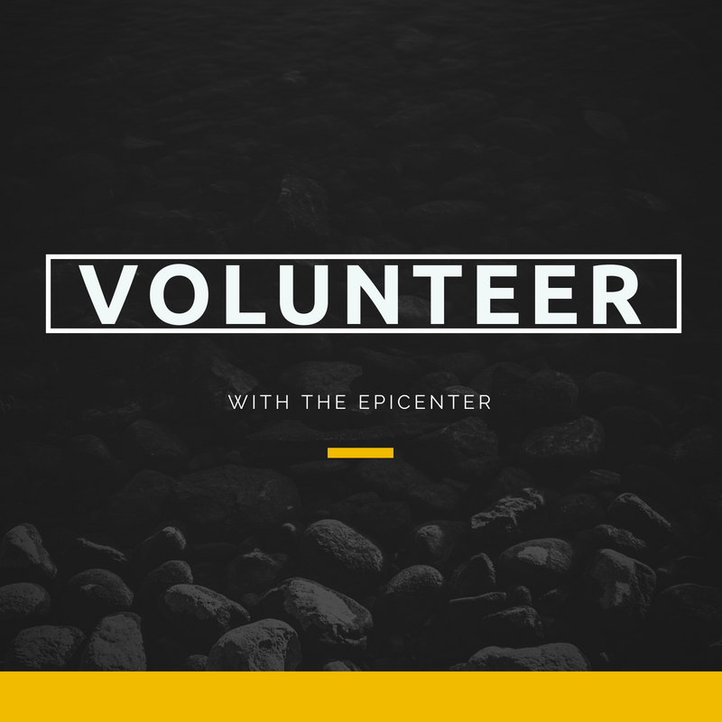 Volunteer with The Epicenter